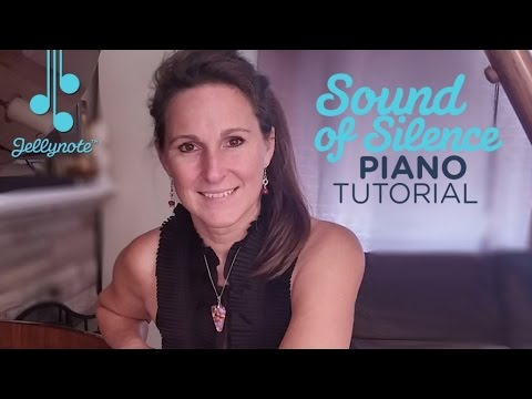Sound of Silence by Simon & Garfunkel - Easy Piano Tutorial for Beginners (Jellynote Lesson)