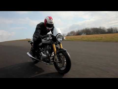 Norton Cafe Racer world first ride