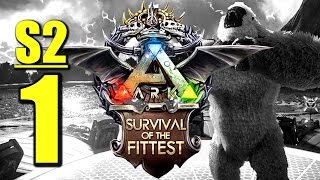 Ark Survival of the Fittest S2 #1 NEUE RUNDE NEUES GLÜCK  [ Gameplay German | Let