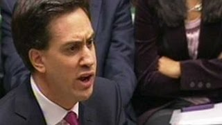 Ed Miliband attacks David Cameron over Andrew Mitchell at PMQs