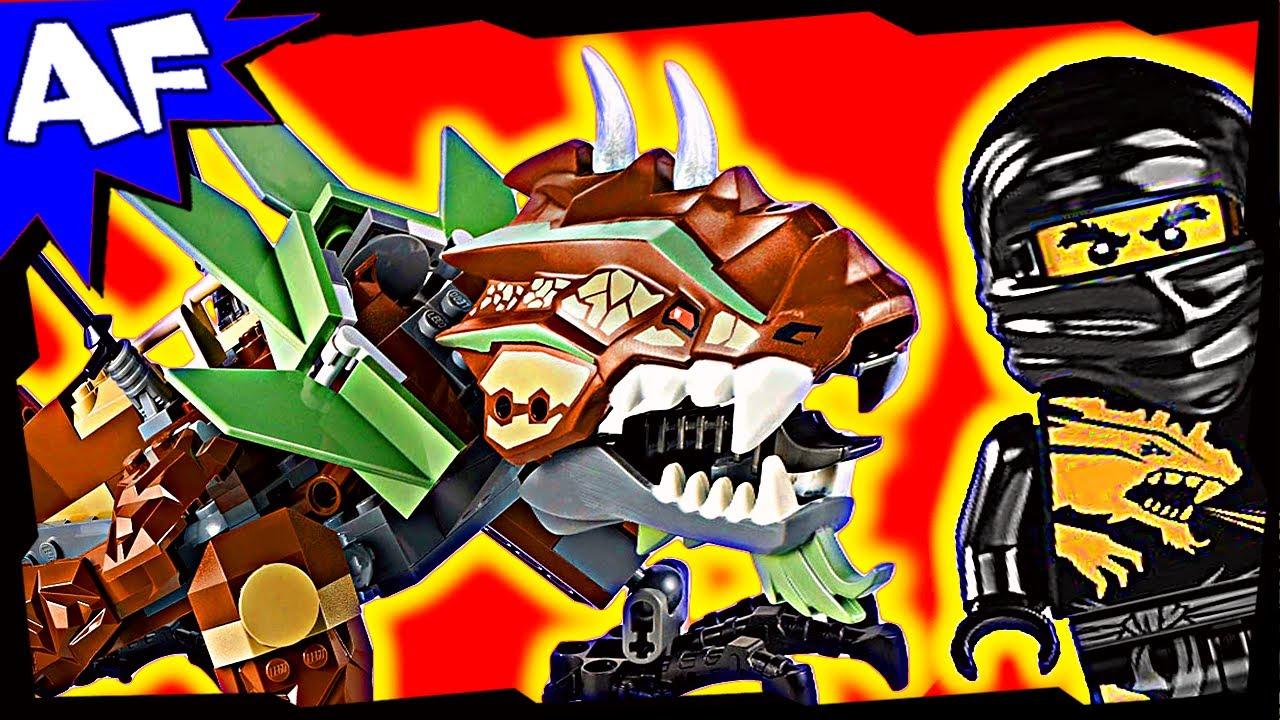 Earth dragon defense 2509 lego ninjago stop motion set review youtube - Dragon ninjago lego ...