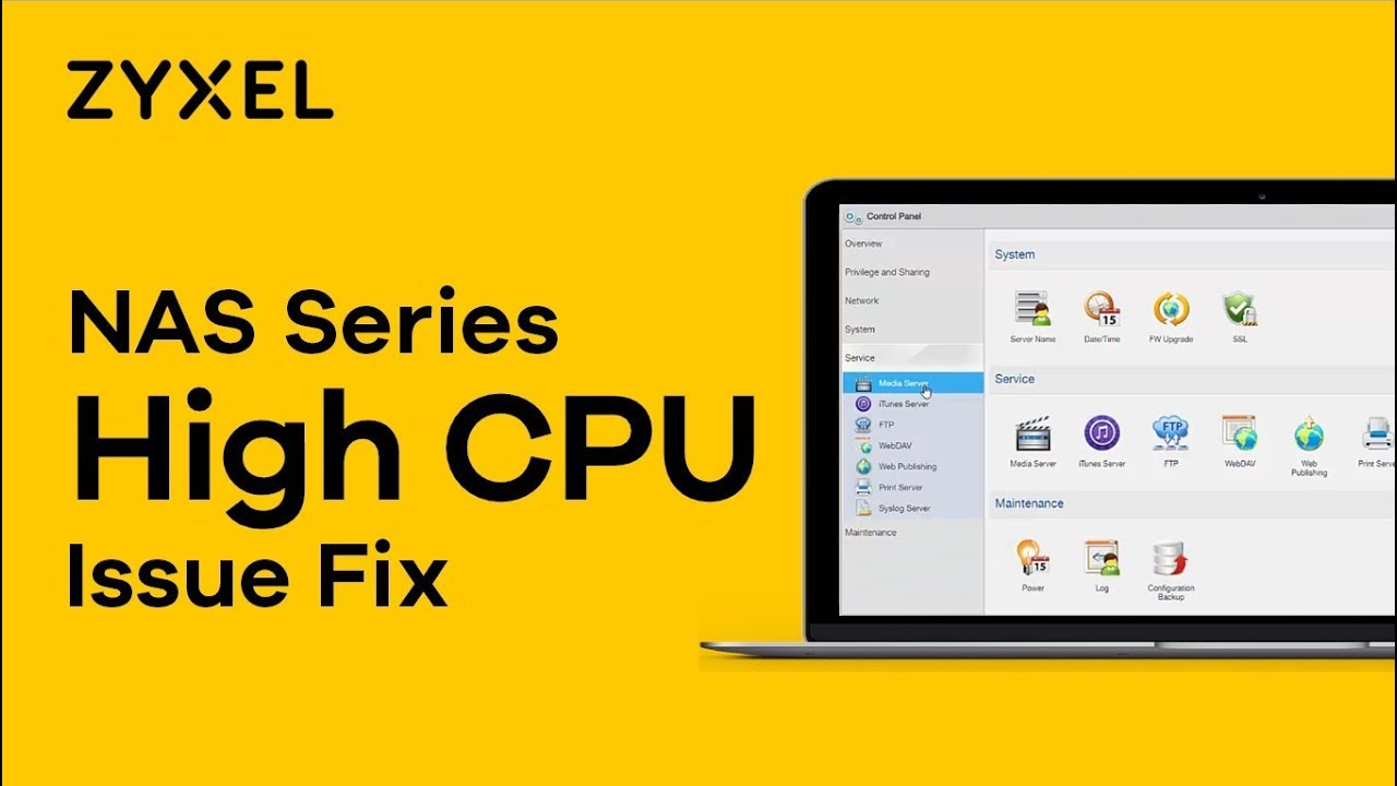 High CPU Issues on Zyxel NAS – Zyxel Support Campus EMEA