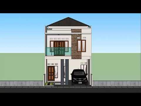 Desain Rumah Minimalis Ukuran 6x9 Memiliki Kolam Renang Youtube