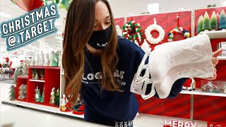 christmas at target w/ my bffs + vlogmas merch!!