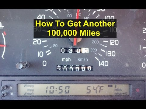 How to get another 100000 miles out of your car. Stage 0 tune up.