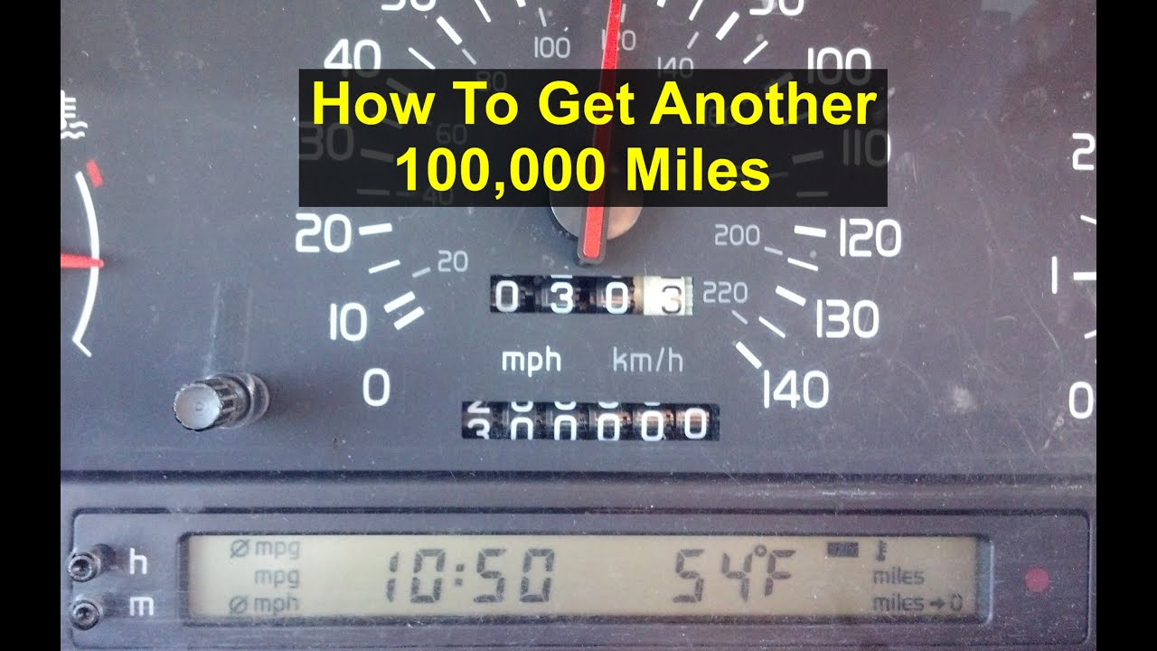 How to get another 100000 miles out of your car. Stage 0 tune up ...