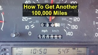 How to get another 100,000 miles out of your car - Auto Information Series