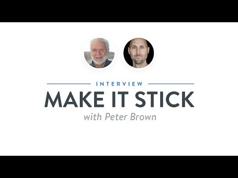 Optimize Interview: Make It Stick with Peter Brown