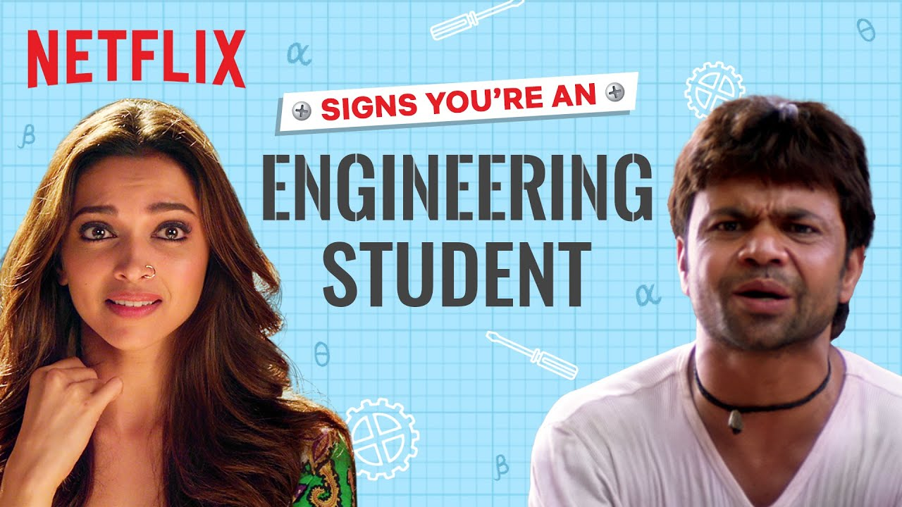 Signs You Are an Engineering Student | Sacred Games, Jab We Met, etc. | Netflix India