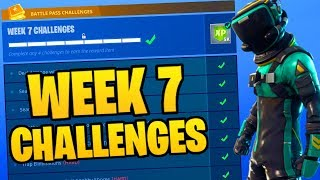 *LEAKED* WEEK 7 CHALLENGES! - Fortnite Battle Royale