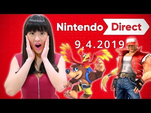 LIVE REACTION! Nintendo Direct 9.4.2019