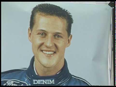 Michael Schumacher Benetton F1 presentation