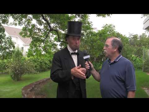 Live Replay: Interview with Abraham Lincoln (portrayed by Fritz Klein)