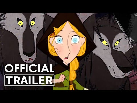 WOLFWALKERS Trailer (Animation, 2020)