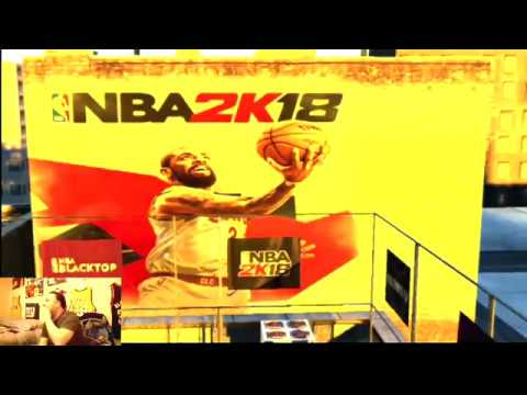 NBA 2K18 IN HD MyPlayer Blacktop Game # 112 FEAT KAHOS CRAZY PART 2