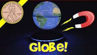 Woodlev Magnetic Levitating Globe Spin The World!