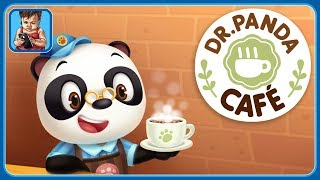 Кафе Доктора Панды * Готовим блюда и напитки зверятам * Dr. Panda Кафе * Мультик игра для детей