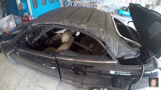 Mercedes-Benz CLK Cabriolet (2002–2009)  Soft top removal and repair