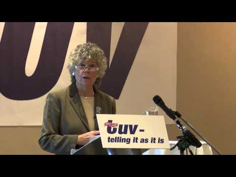 TUV Conference 2015: Kate Hoey MP - The Case for Leaving the EU