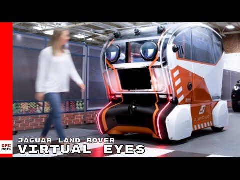 Jaguar Land Rover Virtual Eyes Intelligent Pod