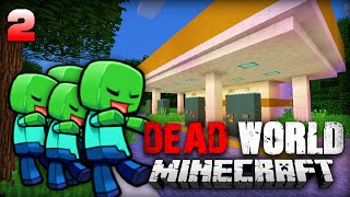 AUTOBAHN plündern!! - Minecraft Dead World #2 [Deutsch/HD]