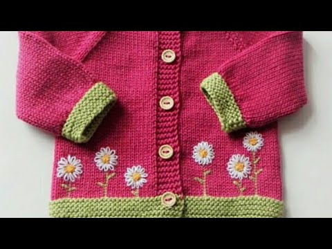 4469226b0 Frock design for kids in hindi Girls coat embroidery design Sweater ...