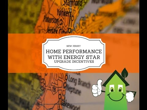 New Jersey Home Performance with ENERGY STAR Upgrade Incentives