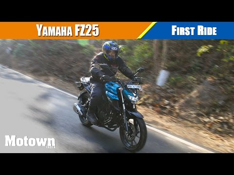 Yamaha FZ25 | First Ride