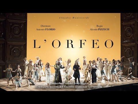 L'Orfeo di Claudio Monteverdi - Il trailer