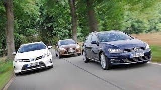 Toyota Auris vs. VW Golf & Ford Focus