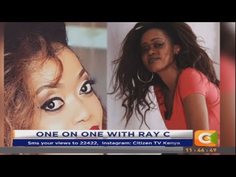 Has Ray C bleached her skin? Here's her interesting response