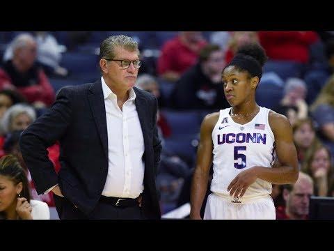 UConn Women's Basketball Highlights v. Stanford 11/12/2017
