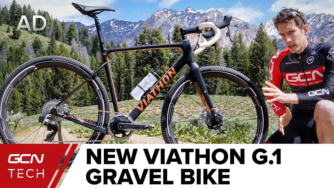 bae5fbab82f This Ain't No 'Walmart' Bike   Viathon G.1 Gravel Bike - YouTube