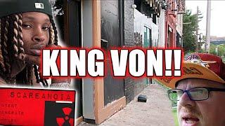 TERRIFYING EXPERIENCE Scareanoia App Takes us Where KING VON Was Shot and Killed!