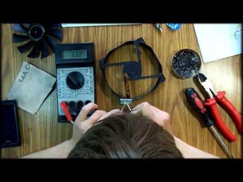 видео: Своими руками - Генератор из кулера