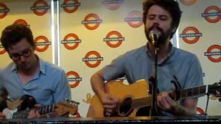"Passion PIt ""The Reeling"" acoustic at Waterloo in-store performance 6/18/10"