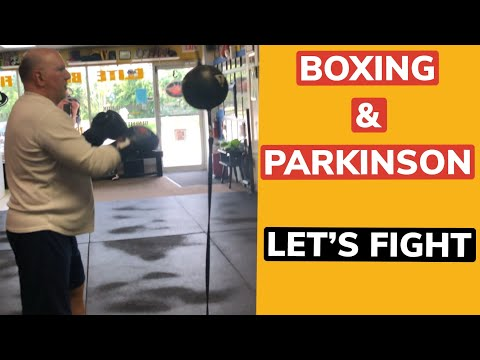 Battling Parkinson's thru boxing awesome work Duane I'm very proud of you