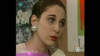 """🎭 Сериал """"Мануэла"""" 210 серия, 1991 год, Гресия Кольминарес, Хорхе Мартинес"""