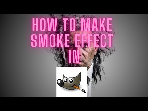 Smoke Effect in GIMP