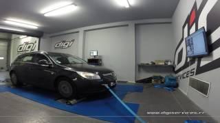 Opel Insignia 2.0 CDTI 110cv Reprogrammation Moteur @ 203cv Digiservices Paris 77 Dyno