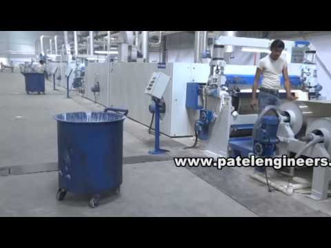 Patel Engineers PVC PU artificial leather coating line