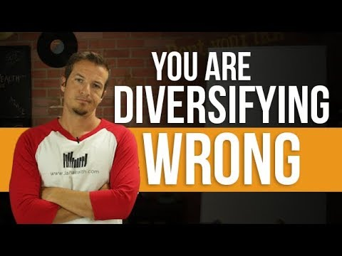 You are diversifying your portfolio wrong.