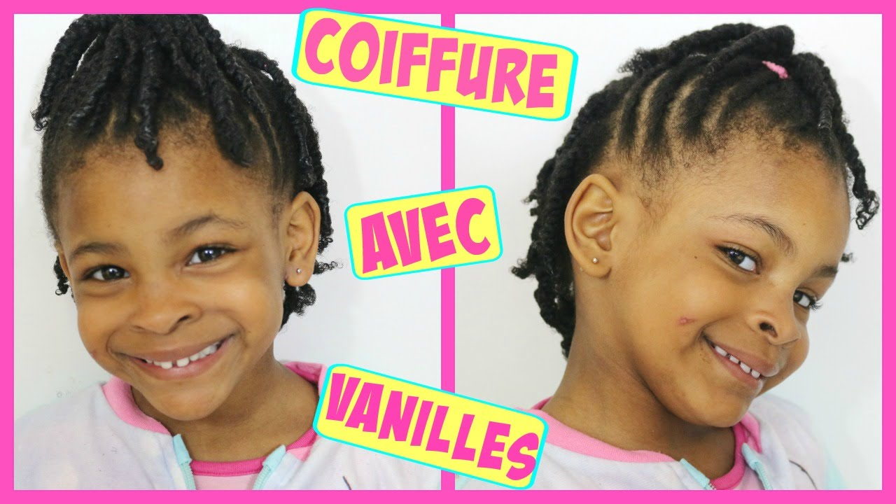 coiffure enfant avec des vanilles pour fille afro cheveux cr pus girl twist hairstyle youtube. Black Bedroom Furniture Sets. Home Design Ideas