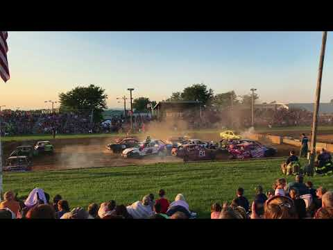 Demo derby Lebanon area fair 2018