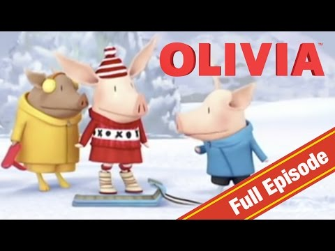 Olivia the Pig | Olivia's Snow Day | Olivia Full Episodes
