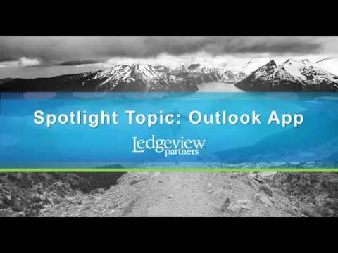 Microsoft Dynamics 365/CRM User Group: The New Outlook App