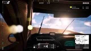 Dakar 18 - Cockpit View Gameplay (PC HD) [1080p60FPS]