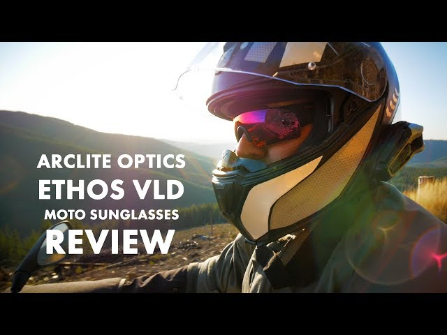 ArcLite Ethos Motorcycle Sunglasses Review - Spoiler: Great Tactical Protective Eye Wear!