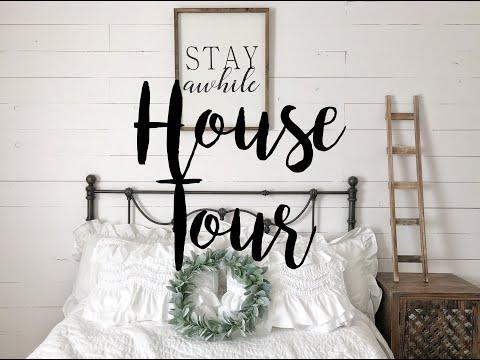 HOUSE TOUR 2019 | FARMHOUSE INSPIRED