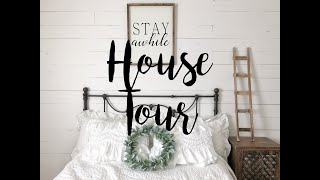 HOUSE TOUR 2019 | FARMHOUSE INSPIRED